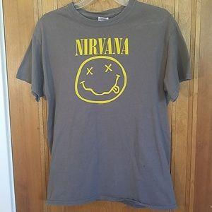Nirvana vintage tee, M